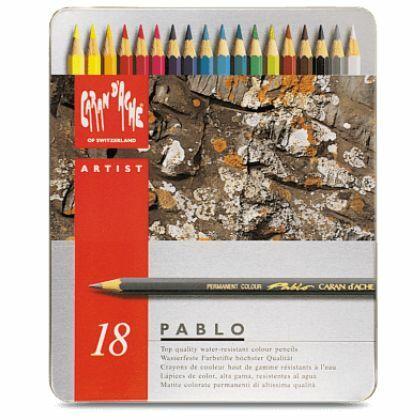 Pablo kleurpotloden 18x