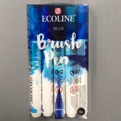 Ecoline Brushpens  Blauw 6x