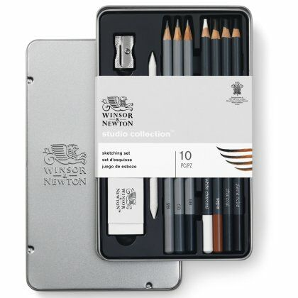 W&N Studio Collectie Sketching Potloden 10 set