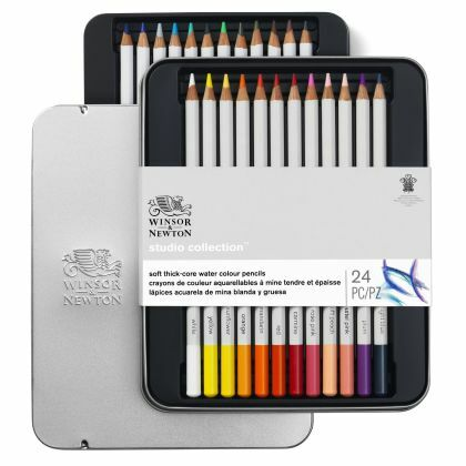 W&N Studio Collectie aquarelpotloden 24 set