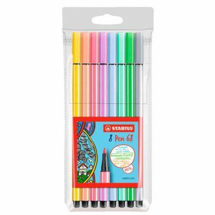 Stabilo Pen 68  blister 8 x