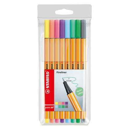 Stabilo Pen 88  blister 8 x