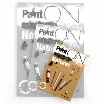 Paint' On Mix Media papier