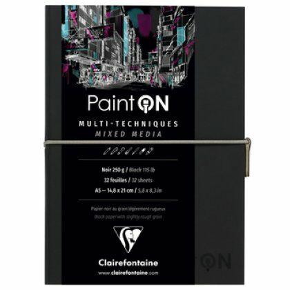 Travel Journal Paint'On Black