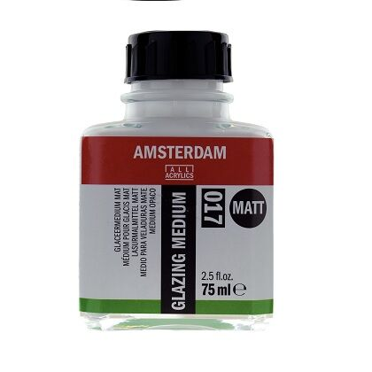 Glaceermedium Mat