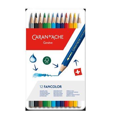 Fancolor kleurpotloden 12x