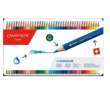 Fancolor kleurpotloden 30X
