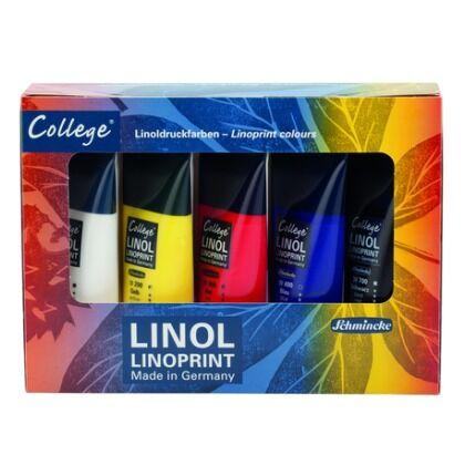 Linoprint inkt 6x75ml