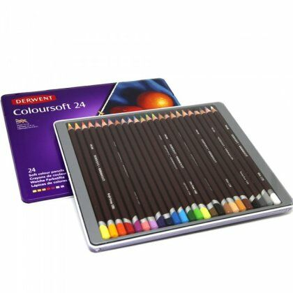 Coloursoft kleurpotloden 24X
