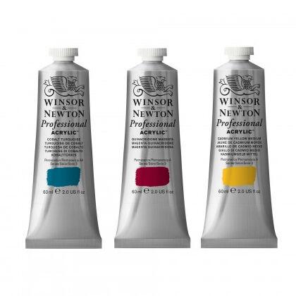 Winsor & Newton Professional Acrylics 60ml