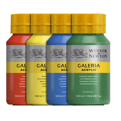 W&N Galeria Acrylic 500 ml potten