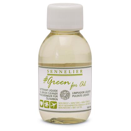 Green for Oil Penseelreiniger