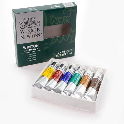 Winton olieverfset 6x21ml