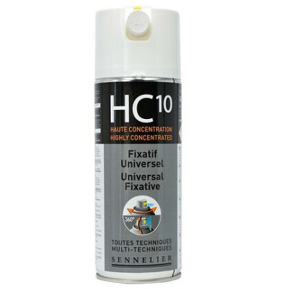 HC10, vernis voor gemengde techniek