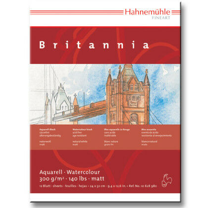 Aquarelblok Britannia