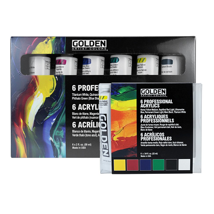 Golden basis-set professional 6x22ml