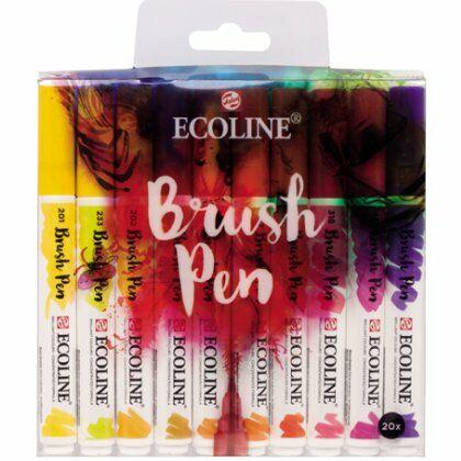 Ecoline Brushpens 20x