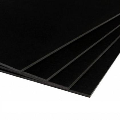 Foamboard zwart 5mm