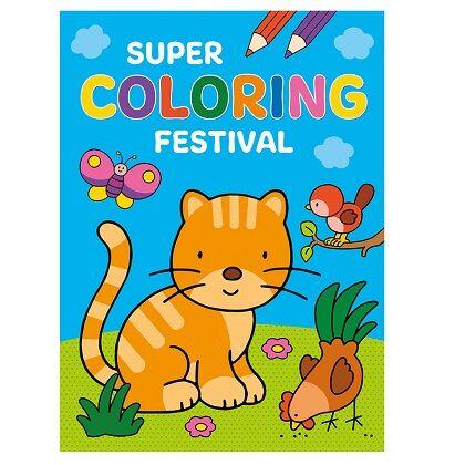 Super coloring festival
