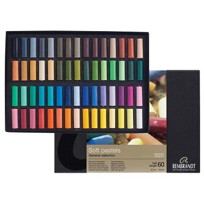 Rembrandt Soft pastels 60 halve krijtjes