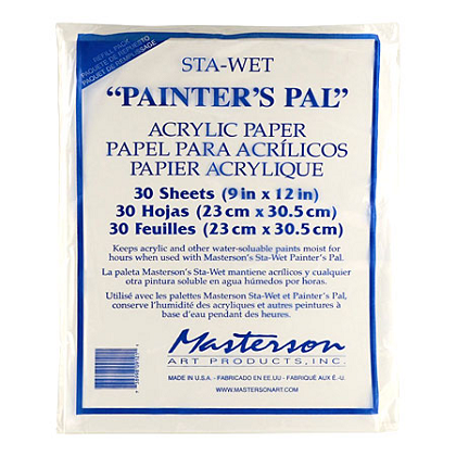 Sta-Wet acrylpapier