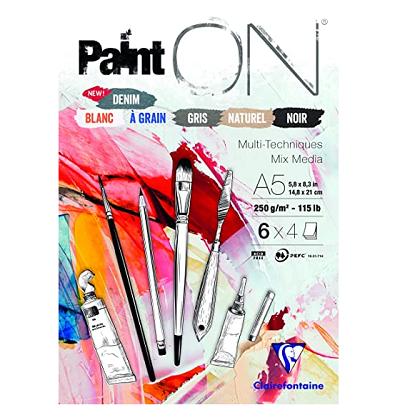 Blok Paint'On Mix Media assorti