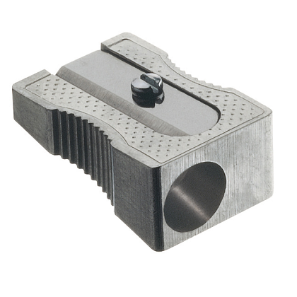 Puntenslijper Faber-Castell metaal enkel 50-31