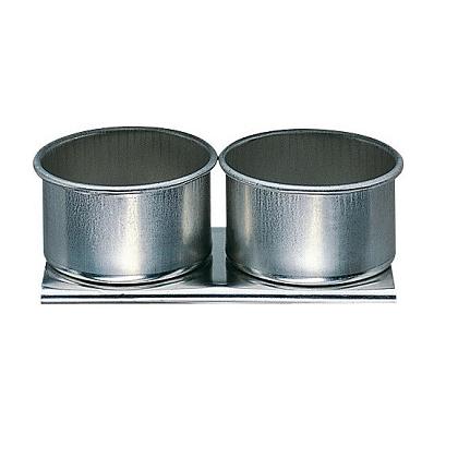 Dubbele metalen paletdop