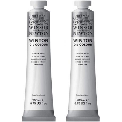 Winton Oil Colour  200ml Twin-pack