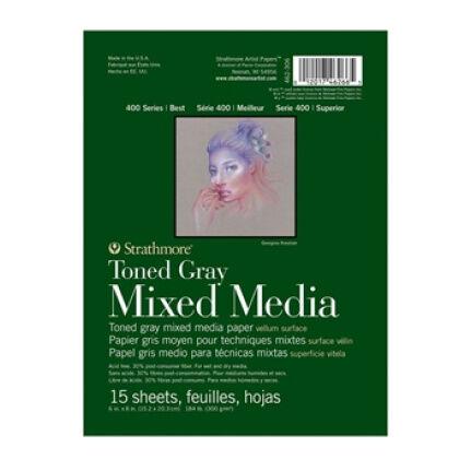 Strathmore Mixed Media Toned Gray