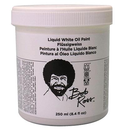 Bob Ross Liquid White