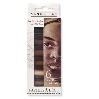 """Soft Pastels themaset """"donkere huidskleur"""""""