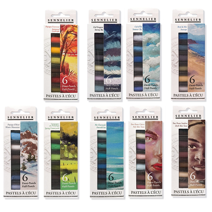 Sennelier Soft pastels 6x 1/2 packs