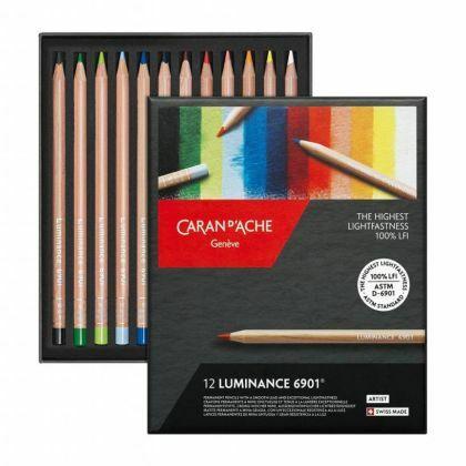 Luminance kleurpotloden 12x