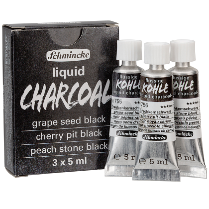 Liquid Charcoal set