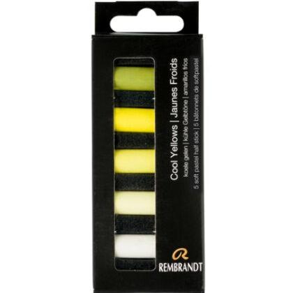 Rembrandt Soft Pastels - koele gelen