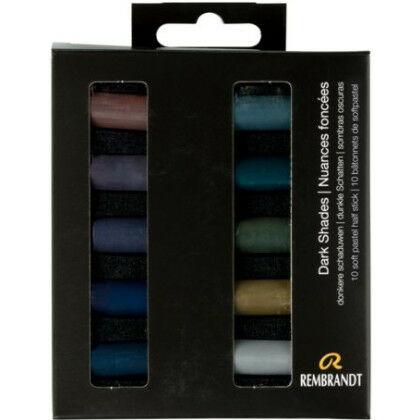 Rembrandt Soft Pastels - donkere schaduwen