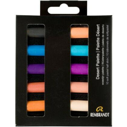 Rembrandt Soft Pastels - woestijn palet
