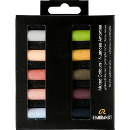 Rembrandt Soft Pastels - gedempte kleuren